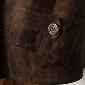 Vintage Shearling Coat Size 50 - Brown