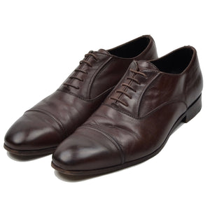 Ermenegildo Zegna Leather Shoes Size 9 EE - Brown