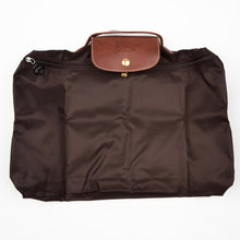 "Load image into Gallery viewer, Longchamp Paris Les Pliage Bag ""Docs"" - Brown"
