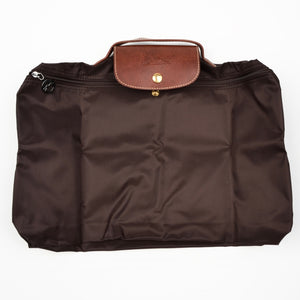 "Longchamp Paris Les Pliage Bag ""Docs"" - Brown"