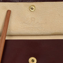 Load image into Gallery viewer, 2x Etienne Aigner Leather Wallets - Burgundy