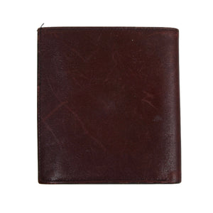 2x Etienne Aigner Leather Wallets - Burgundy