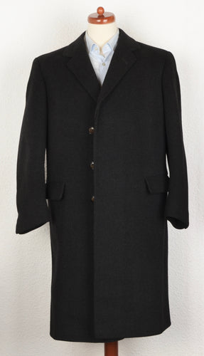 Handmade Overcoat by Minarik for Baur Foradori - Charcoal