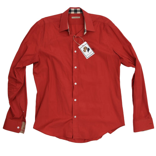 Burberry Brit Shirt Size L - Red