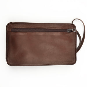 Longchamp Paris Small Travel Bag/Pouch - Brown