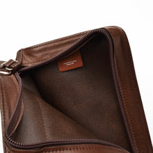 Load image into Gallery viewer, Longchamp Paris Small Travel Bag/Pouch - Brown