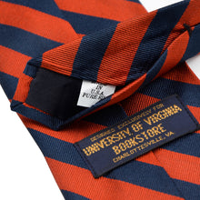 Load image into Gallery viewer, Brooks Brothers University of Virginia Silk Tie - Orange & Blue