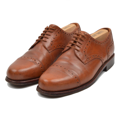 Ludwig Reiter Budapester Shoes Size 8.5 - Cognac