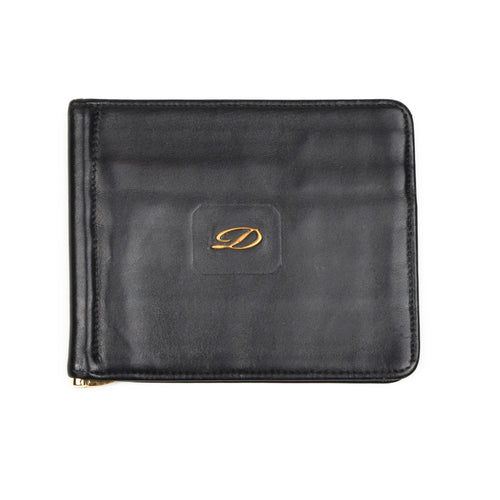 S.T. Dupont Money Clip Wallet - Black