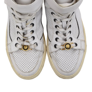 Versus Versace High Top Sneakers Size 41 - White