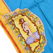 Load image into Gallery viewer, Vintage Atelier Versace Printed Silk Scarf - Mermaid Motif