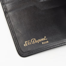 Load image into Gallery viewer, S.T. Dupont Money Clip Wallet - Black