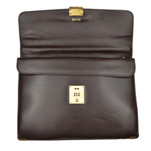 Load image into Gallery viewer, Mädler Elegant Leather Briefcase - Chocolate Brown