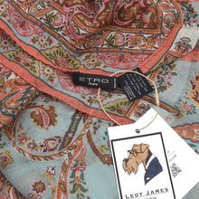 Load image into Gallery viewer, Etro Milano Wool/Silk Scarf - Paisley