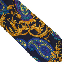 Load image into Gallery viewer, Vintage V2 Versace '90s Paisley Silk Tie