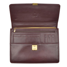 Load image into Gallery viewer, Matras Style Leather Briefcase - Burgundy
