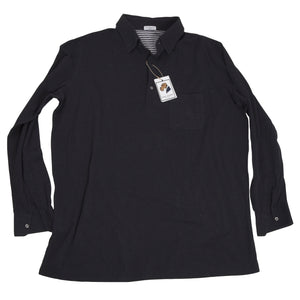 Anna Matuozzo Napoli Long Sleeved Polo Shirt Size Size 4XL/5XL  - Charcoal