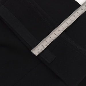 Tom Ford Era Gucci Flannel Pants in Wool/Cashmere Size 54 - Black