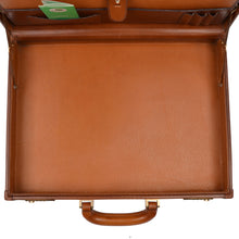 Load image into Gallery viewer, Executive Leather Briefcase - Tan