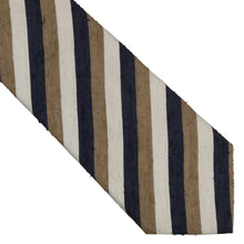 Load image into Gallery viewer, SuitSupply Slubby Silk Tie - Stripes