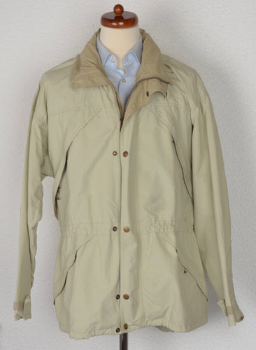 Fjällräven Casual Lightweight Hiking Jacket Size M - Beige