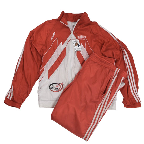 '90s Adidas Track Suit Size D6 - Red