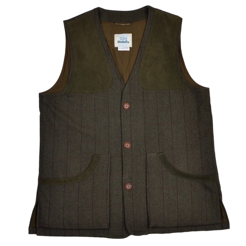Beretta Sport Tweed Shooting Vest Size 54 - Green