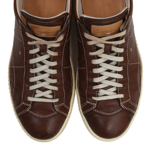 Santoni Leather Sneakers Size 7 - Brown