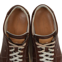 Load image into Gallery viewer, Santoni Leather Sneakers Size 7 - Brown