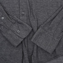 Load image into Gallery viewer, Ingram Brushed Cotton Shirt Slim Size 41 - Black
