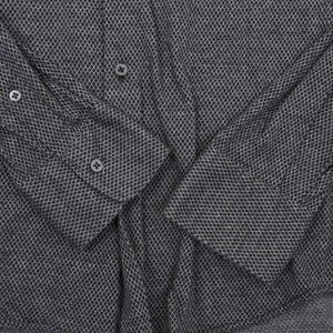 Ingram Brushed Cotton Shirt Slim Size 41 - Black