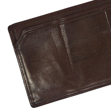 Load image into Gallery viewer, F. Schulz Wien Leather Travel Wallet/Organizer - Burgundy-Brown
