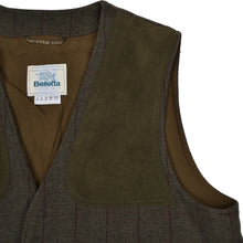 Load image into Gallery viewer, Beretta Sport Tweed Shooting Vest Size 54 - Green