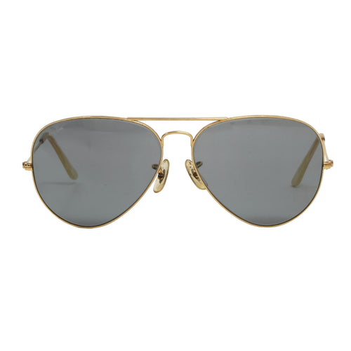 Vintage Bausch & Lomb Ray-Ban Aviator Sunglasses - Gold