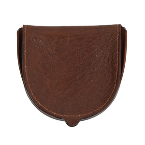 The Bridge Leather Coin Wallet - Brown