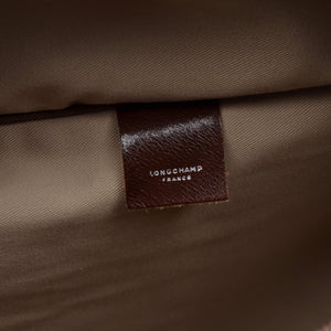 Longchamp Paris Shoulder Travel Bag - Brown