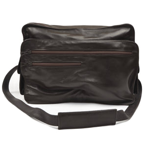 Longchamp Paris Shoulder Travel Bag - Dark Brown