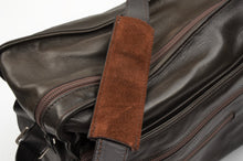 Load image into Gallery viewer, Longchamp Paris Shoulder Travel Bag - Dark Brown