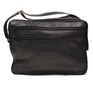 Longchamp Paris Shoulder Travel Bag - Black