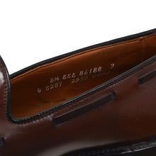 Load image into Gallery viewer, Allen Edmonds Grayson Shell Cordovan Loafers Size 8.5EEE - Burgundy