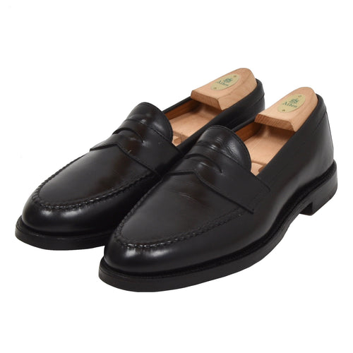 Alden Loafers Size 9 C/E - Black