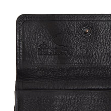 Load image into Gallery viewer, Becker Handmade Deerskin Wallet - Black