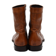 Load image into Gallery viewer, DSQUARED2 Western Style Boots Size 42 - Cognac Tan