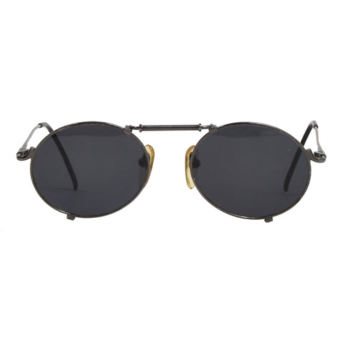 Jean Paul Gaultier 56-7162 Sunglasses - Gunmetal Grey