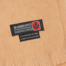Load image into Gallery viewer, George Harrison Scarf in Camelhair & Wool - Tan