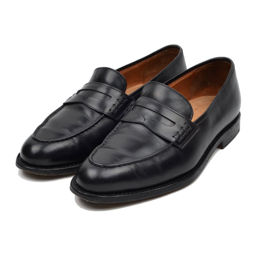 Ludwig Reiter Penny Loafer Shoes Size 8 - Black