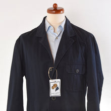 Load image into Gallery viewer, Aigner Cotton Safari Jacket Size 50 - Navy