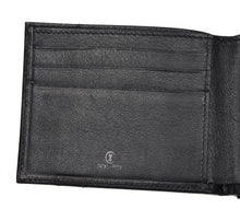Load image into Gallery viewer, Goldpfeil Double-Sided Leather Wallet & Money Clip - Black