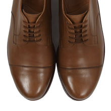 Load image into Gallery viewer, Ludwig Reiter Cap Toe Derby Shoes Size 9 - Tan