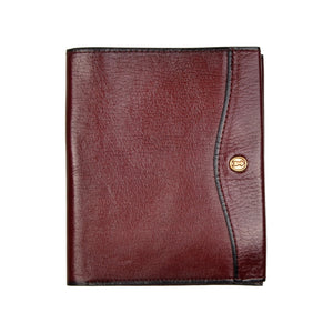 Goldpfeil Leather Wallet - Red